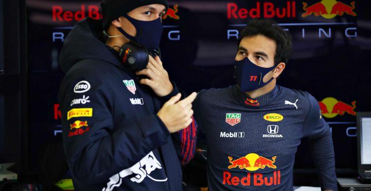 Ook Perez heeft het moeilijk bij Red Bull: 'Dat biedt mij geen troost'