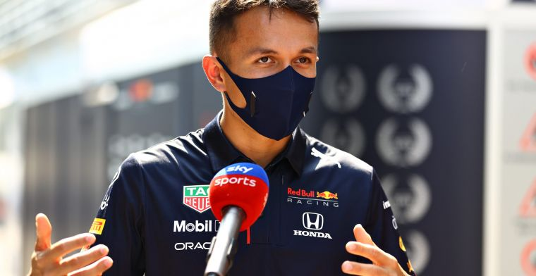 Albon at Williams unable to share information from Mercedes to Red Bull