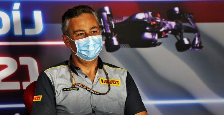 Pirelli kreeg donderdag grote teleurstelling te verwerken