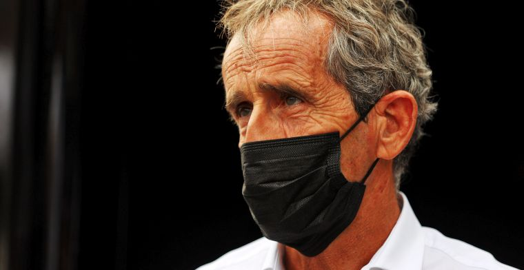 Prost doesn't agree with all the choices in F1: 'I'm not in favour of it'