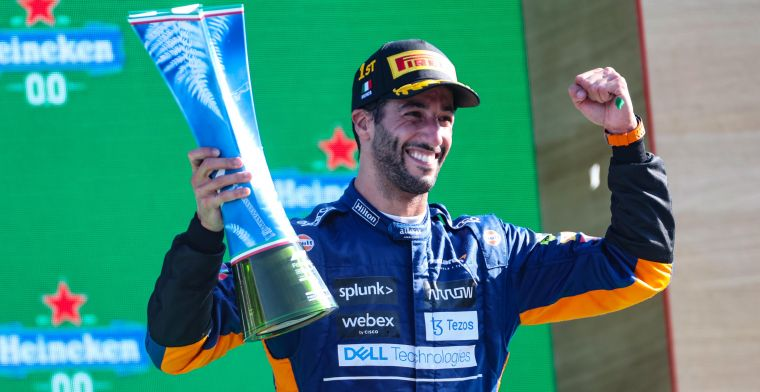 Ricciardo came out of summer break stronger: 'Little bit about me was back'