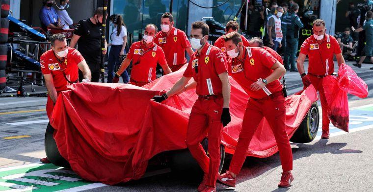 FIA gaat Ferrari van Sainz onderzoeken: Gordel zat mogelijk te los bij crash