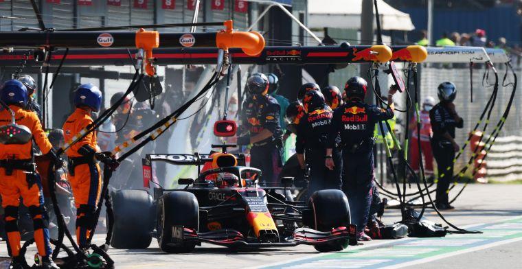 Horner reveals reason behind Verstappen's bad pit stop