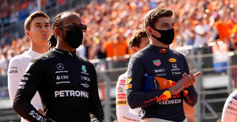 Hamilton doet voorspelling: 'Wordt heel close met Verstappen'