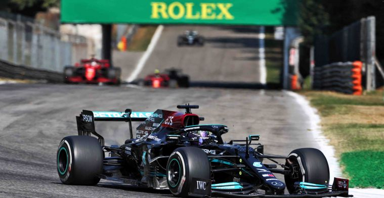 Mercedes takes negative record, dominance seems to end