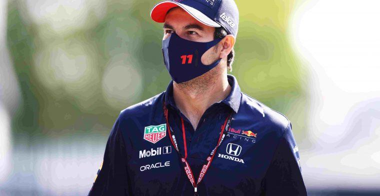 Perez over helpen van Verstappen: Overduidelijk dat hij voor titel gaat