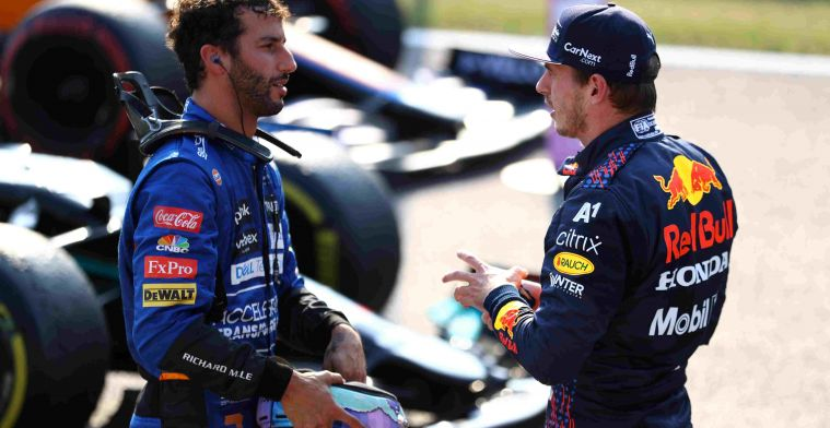 Ricciardo: 'Verstappen would have helped an injured Hamilton immediately'