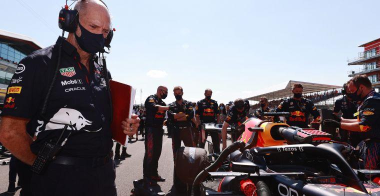 Newey verlengt contract met Red Bull ondanks geruchten Aston Martin