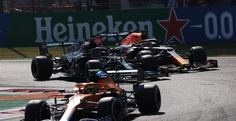 Hamilton and Verstappen supported: 'They were both angry'