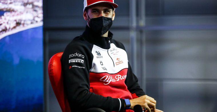 Kansen voor Giovinazzi bij Ferrari? 'Als Italiaanse rijder het ultieme doel'