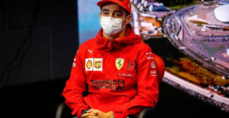 Leclerc verwacht geen grote veranderingen na update: 'Beetje beter'