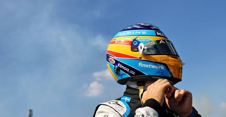 Alonso happy to be back in F1: Enjoying the sport to the fullest