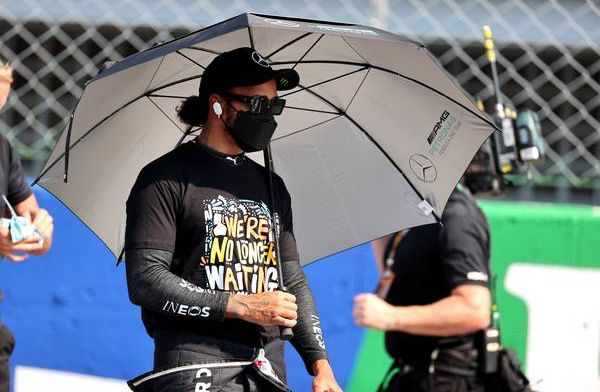 Hamilton vreest Verstappen in Sochi: 'Hij is misschien wel sterker hier'