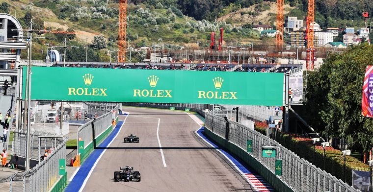 Unpredictable weather: 'We think the race is going to be sunny'