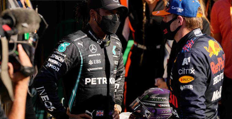 Hamilton krijgt net als Verstappen nieuwe versnellingsbak in Rusland