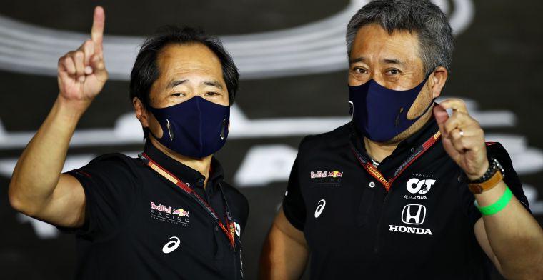 Honda geeft Verstappen voorrang: Eerst Verstappen, dan Perez en dan Gasly