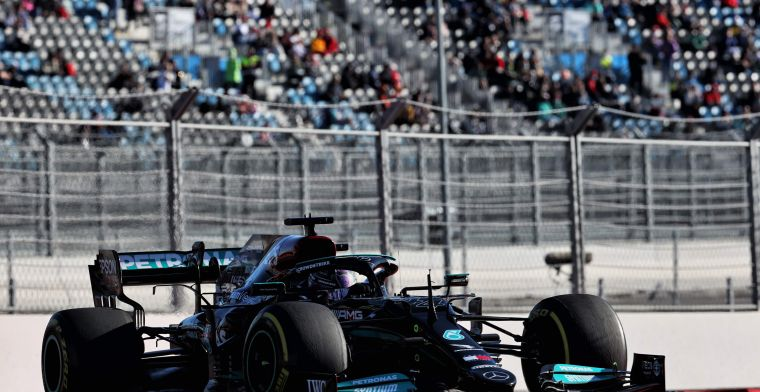 Mercedes faces challenge: 'Finding setup that works in both dry and wet weather'