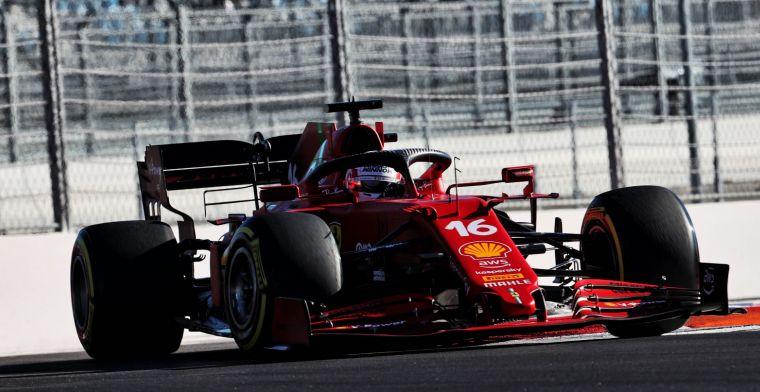 Leclerc positief: 'Dat was heel belangrijk in de loop van de dag'
