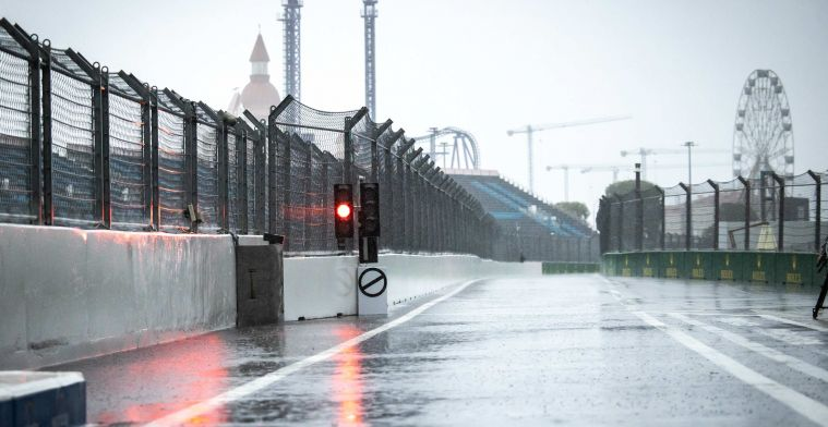 Weersverwachting Rusland: zware regenval houdt aan, timing kwalificatie lijkt goed