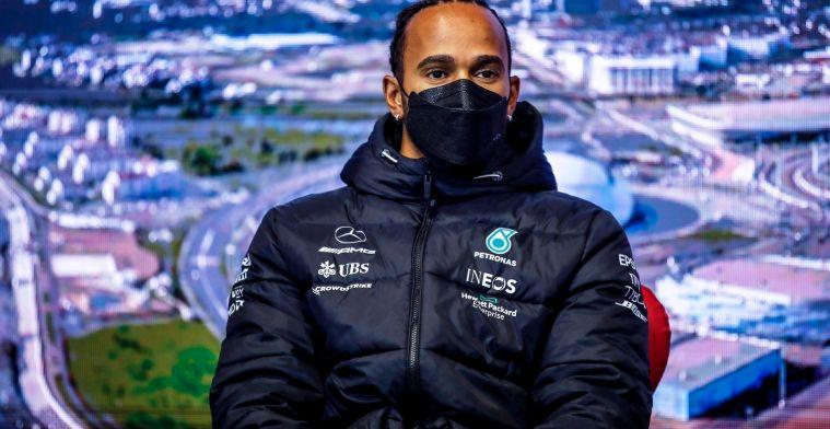 Hamilton vergeeft Verstappen: 'Incidenten horen er soms bij in deze sport'