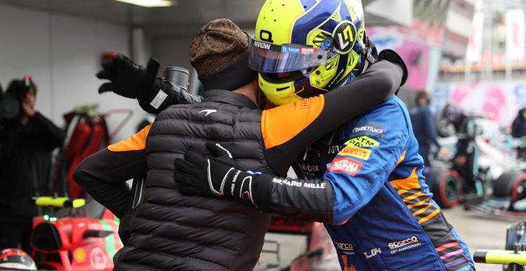 Voorlopige startgrid GP Rusland: Norris op pole, Verstappen start achteraan