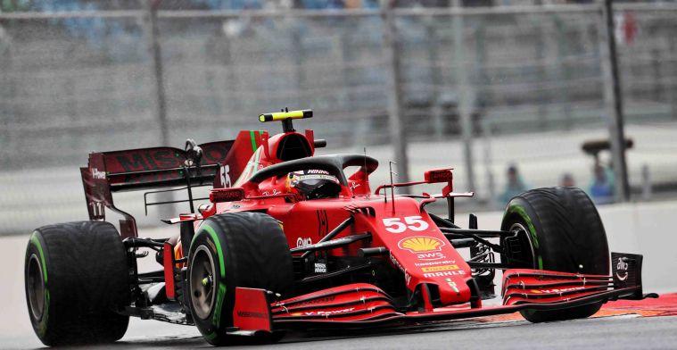 Sainz: 'Zullen het gevecht met Mercedes en Perez aangaan'