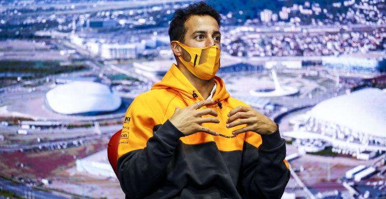 Heftige periode Ricciardo: 'Het maakte de rotdagen de moeite waard'