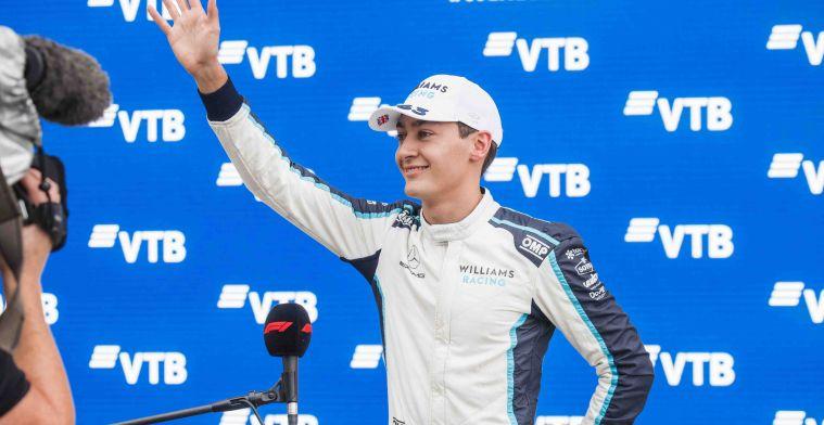 Mercedes-teambaas: Zou me niet verbazen om Russell aan de leiding te zien