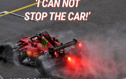 Frightening moment for Leclerc: 'I can't stop the car!