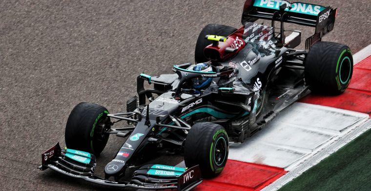 Bottas start tijdens GP Rusland achteraan vanwege motorwissel