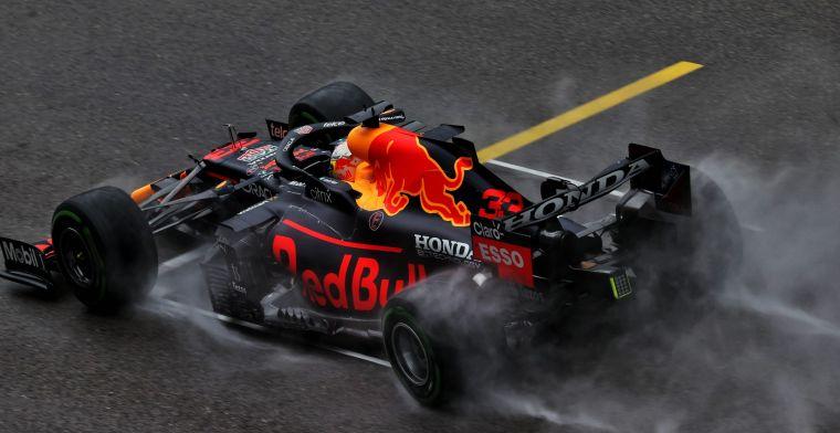 Geluk voor Hamilton: 'Verstappen had een goede kans gehad om pole te halen'