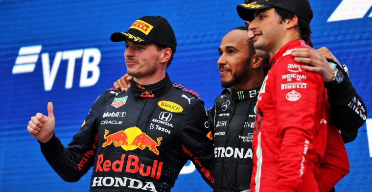 Sunday's summary: Hamilton and Verstappen benefit from the rain