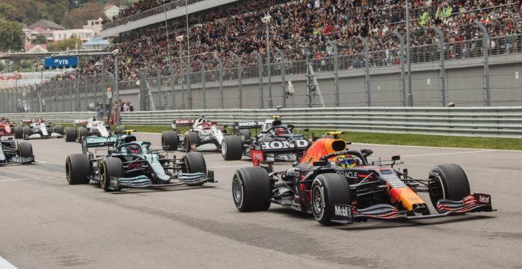 Stand constructeurs: Red Bull profiteert niet van minder weekend Mercedes