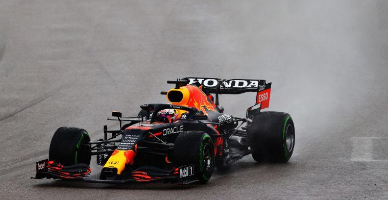 Verstappen, Bottas en Raikkonen wonnen meeste plekken na regenval Rusland