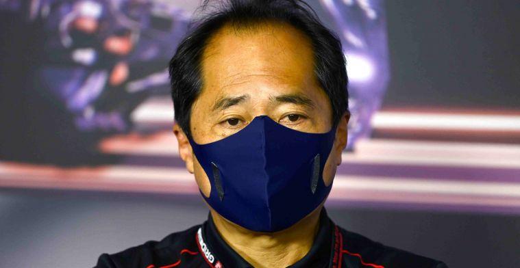 Honda: 'Weten niet of Hamilton nog nieuwe motor in gaat zetten'