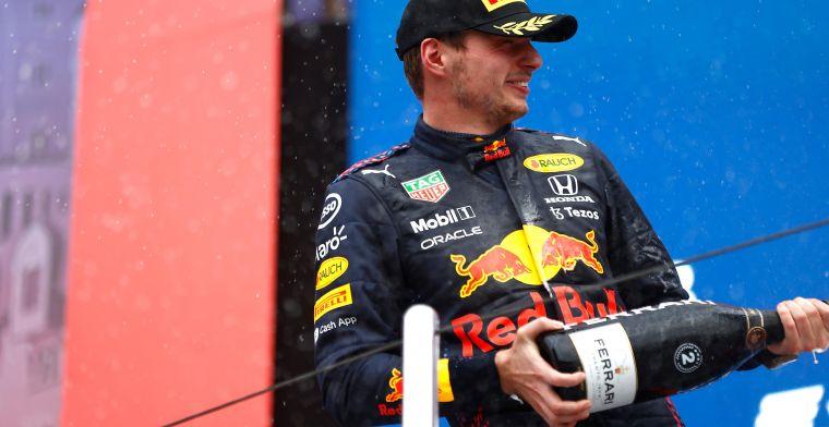 Verstappen koos het beste moment in de regen: 'Gevoel van de coureur'