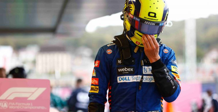 Russell feels sorry Norris: Every driver's worst nightmare
