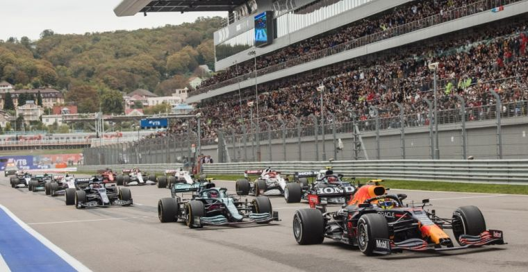 Ratings   Which teams dealt best with the chaotic Russian GP?