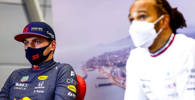 Button: 'Verstappen en Hamilton willen allebei geen centimeter toegeven'