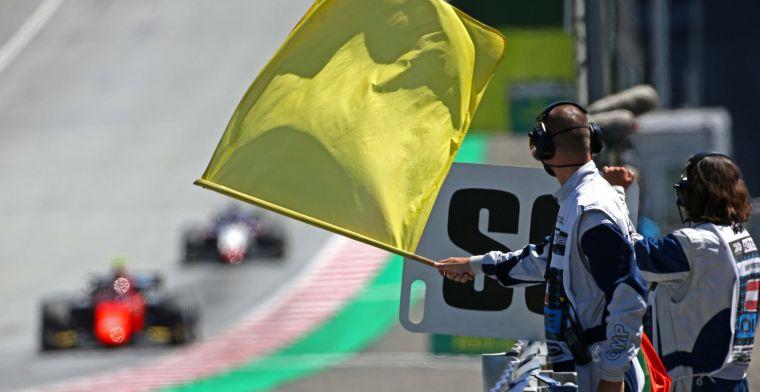 Formule 1 overweegt snelle tijden te schrappen onder een gele vlag