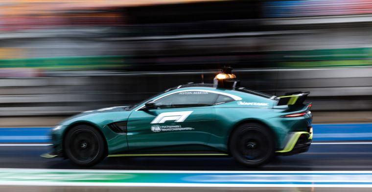 Coureur F1 medical car mist laatste paar races: 'Moet aan die eisen voldoen'