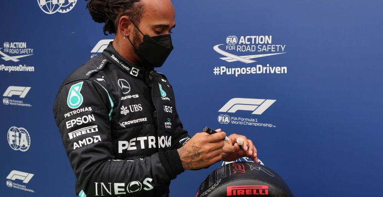Lammers steunt Hamilton: 'Die tik op de vingers is nergens voor nodig'
