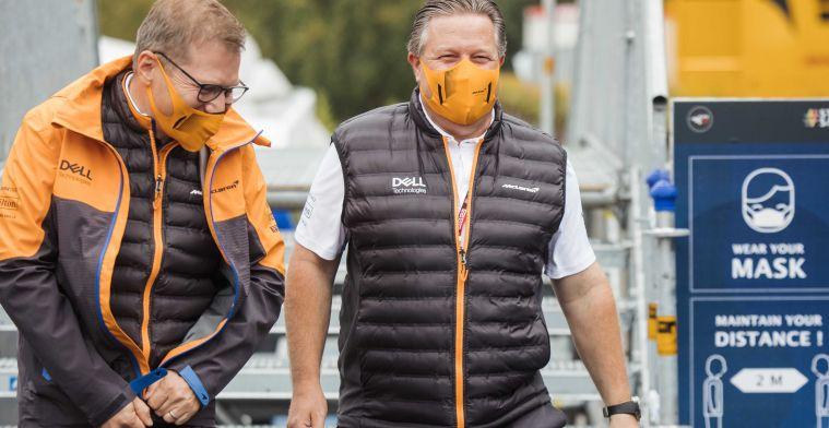 McLaren weer met beide benen op de grond na tegenvallende GP in Turkije