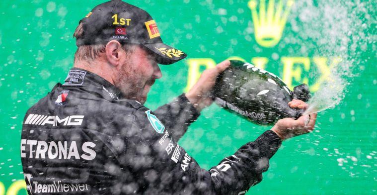 Bottas impresses: 'He dominated Verstappen'
