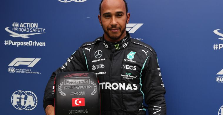 Mercedes explains late stop Hamilton: 'Would have been seventh or eighth'
