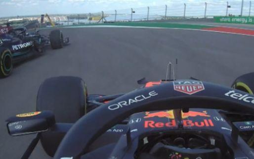 """Verstappen direct al in de clinch met Hamilton: """"Stupid idiot"""""""